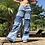 Thumbnail: Denim Pimlico trousers