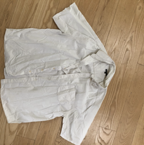 White pimlico trousers before