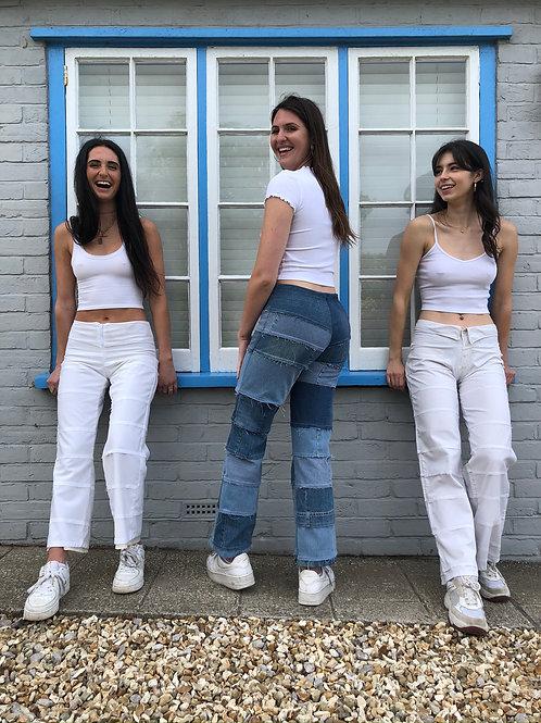 Denim Pimlico trousers