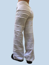 White Pimlico trousers