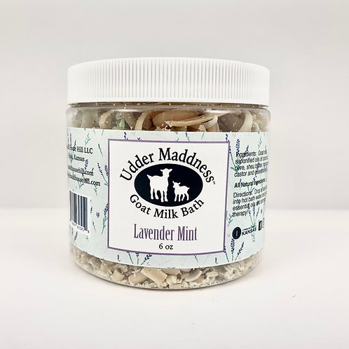 Lavender Mint Goat Milk Bath