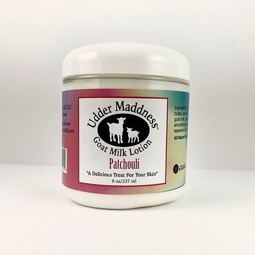 Patchouli Goat Milk Lotion