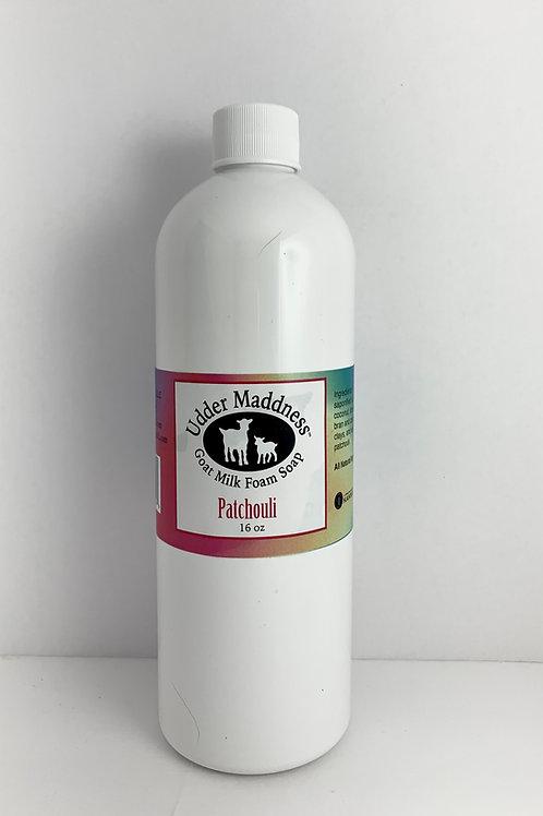 Patchouli Foam Soap Refill