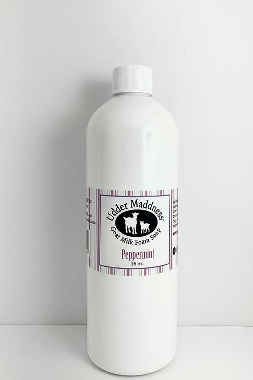 Peppermint Foam Soap Refill
