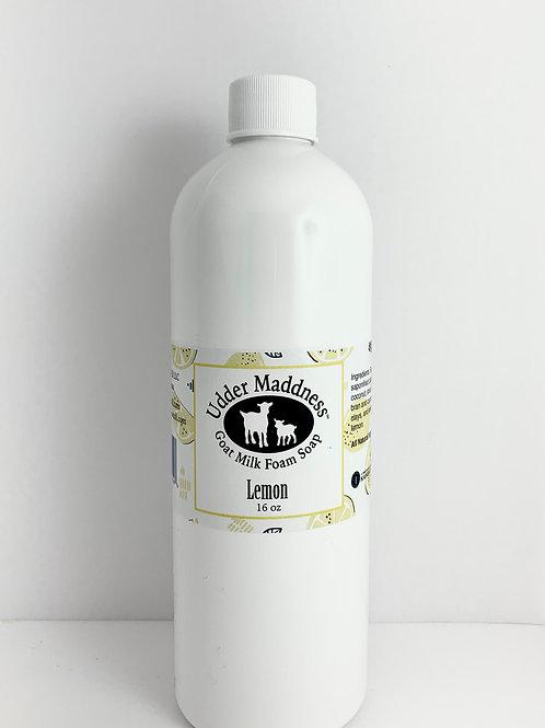 Lemon Foam Soap Refill