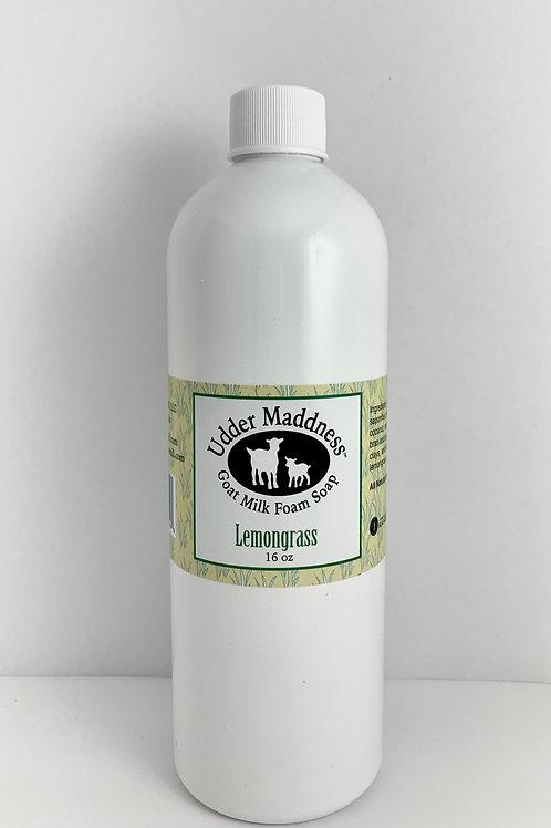 Lemongrass Foam Soap Refill