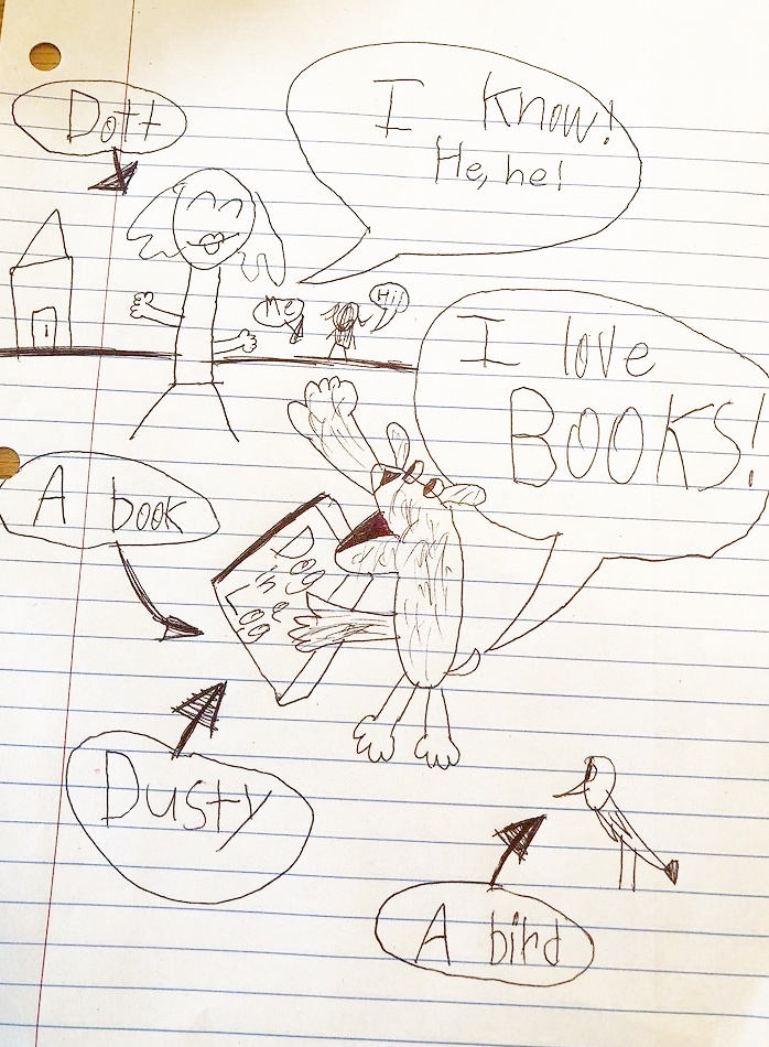 """""""I Love Books"""" By: Kylie"""