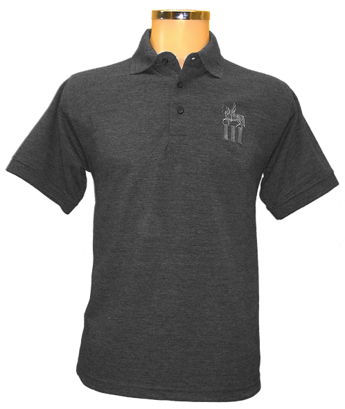 Charcoal Grey Polo Shirt