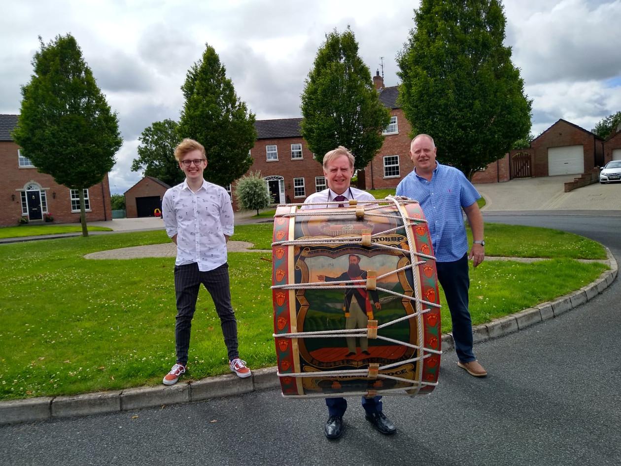Bro Geoffrey, Steven & William Mitchell.