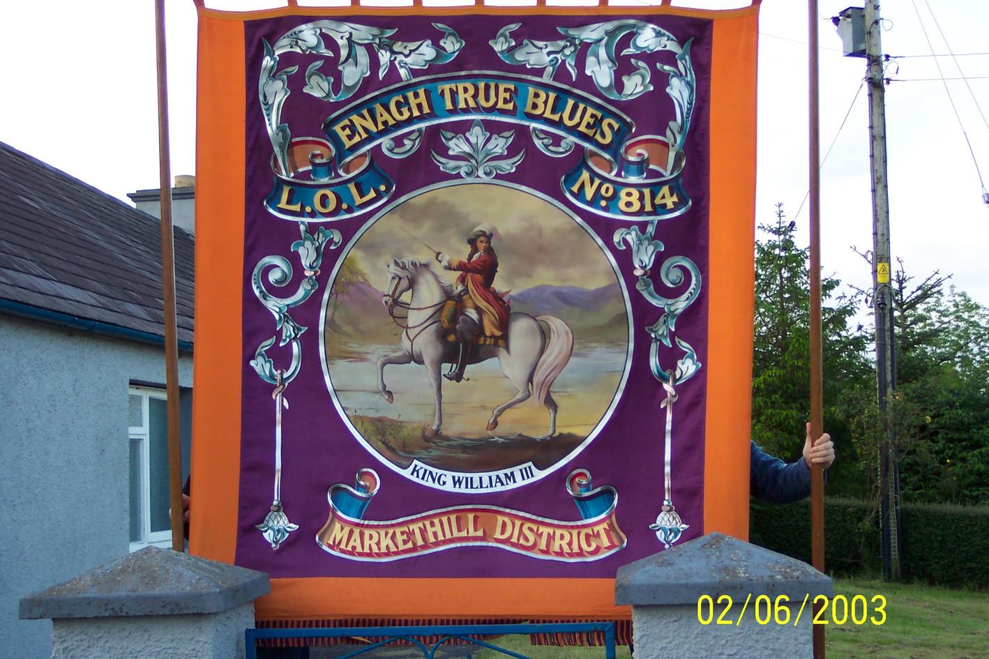 Enagh True Blues LOL 814 Markethill Dist