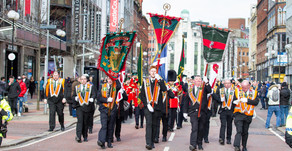 Anniversary parade in memory of UDR soldiers