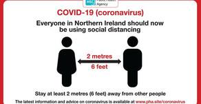 Social distancing is vital!