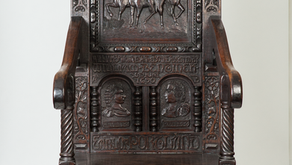 William III and the War in Ireland in Twelve Objects: 5. Earl of Portland Chair