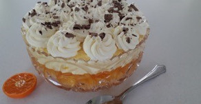 Retro Mandarin Orange Trifle