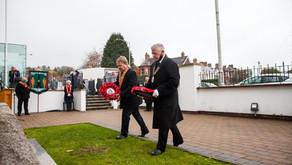 Orange Order falls silent on Remembrance Day
