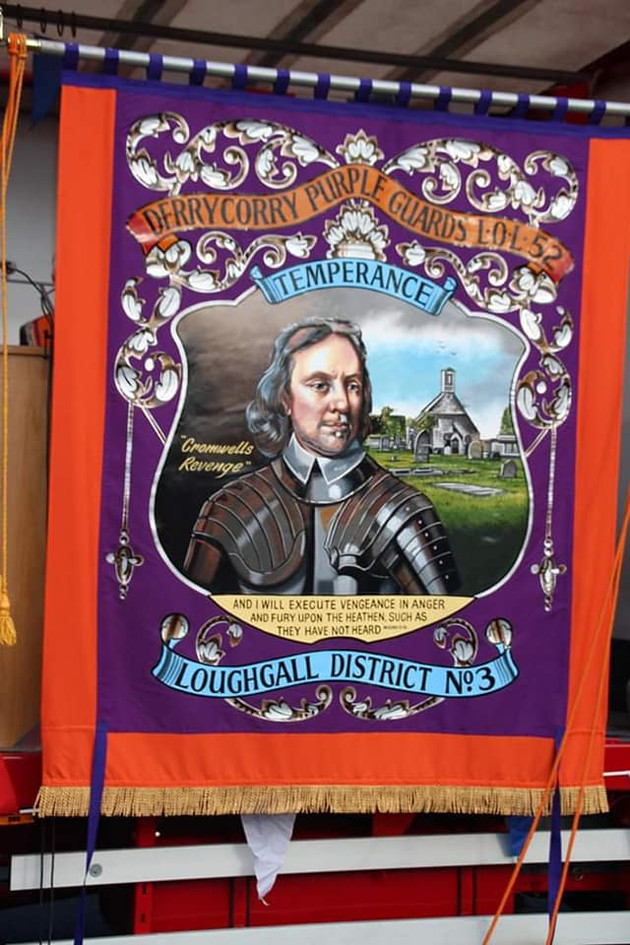 Derrycorry Purple Guards LOL 52 Banner U