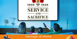 Heritage at Home - Service and Sacrifice