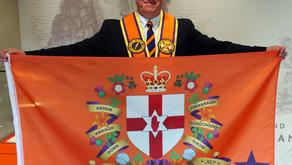 Flag unveiled to mark NI CentenNIal