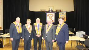 Orange Order Grand Master re-elected