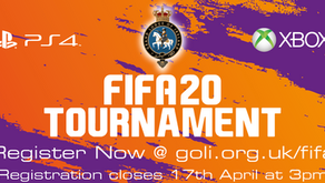 Grand Lodge prepares to kick-off online FIFA Tournament