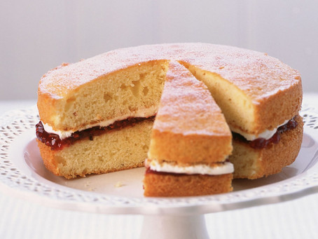 VE Day recipe - Victoria Sponge