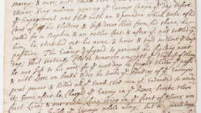 William III and the War in Ireland in Twelve Objects: 11. Earl of Meath's Letter