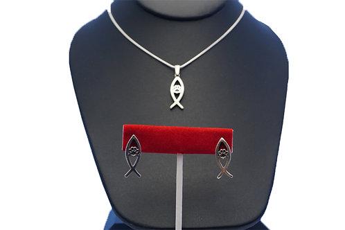 Earrings Necklace Set