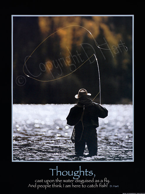The Zen of Fly-Fishing Poster 22x28