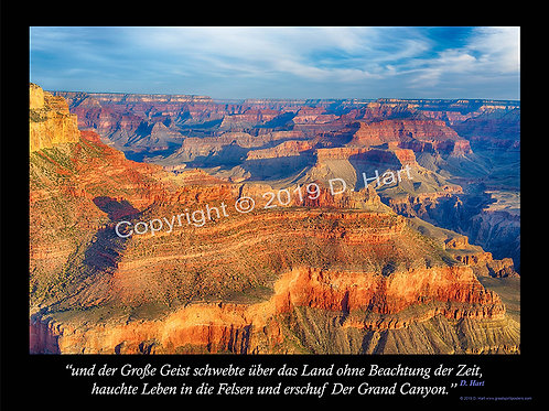 The Grand Canyon Poster 18x24 (German)