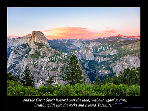 Yosemite Poster 18x24