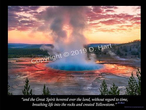 Yellowstone Poster 24x36