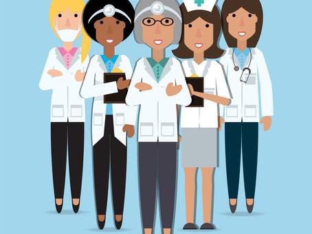 Response: Women in general practice, Women in intensive care medicine.