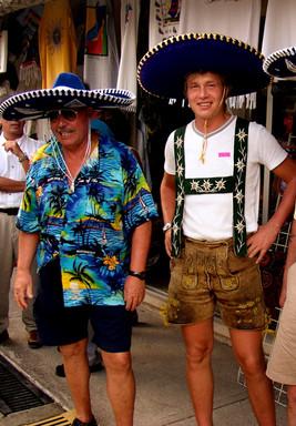 Auftritt in Cozumel Mexico