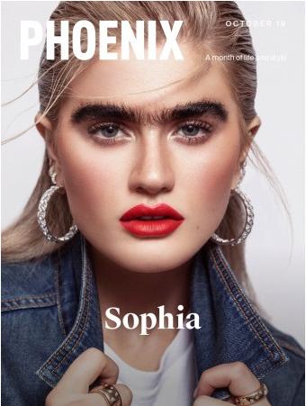 Phoenix Cover with Sophia