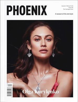 PHOENIX COVER OLGA KURYLENKO