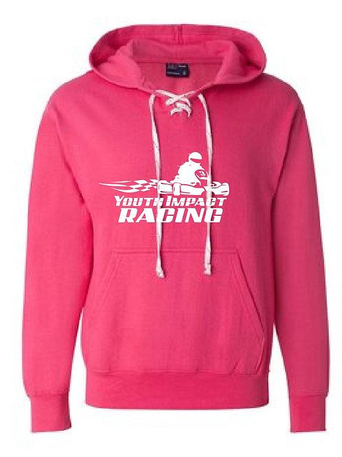 Pink YIR Logo Hockey Sweatshirt
