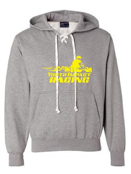 Gray YIR Logo Hockey Sweatshirt