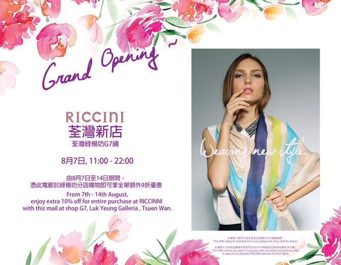 New Store Grand Opening
