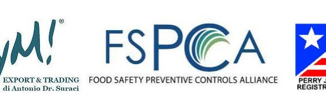 "U.S. FSMA - Food Safety Modernization Act - Preventive Controls for Human Food - ""PCQI"" TR"