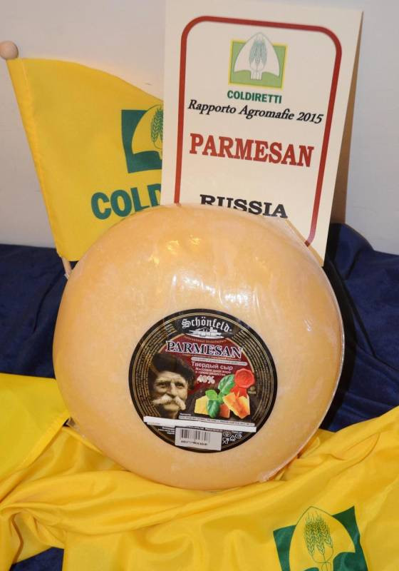 """Contraffazione agroalimentare, in mostra a Expo gli """"sfregi al made in Italy"""""""