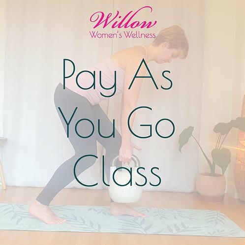 Pay As You Go Class