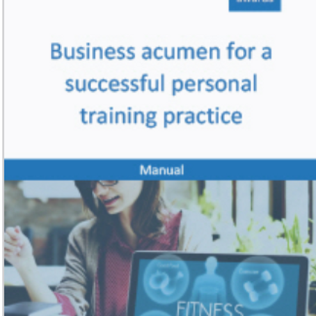 Business Acumen for PTs manual