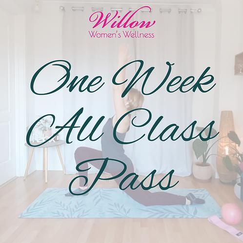 One Week All Class Pass