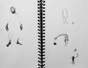 Figures, 2016, Pen on Paper