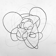 """Form, 2015, Pencil on Paper, 10""""x10"""""""