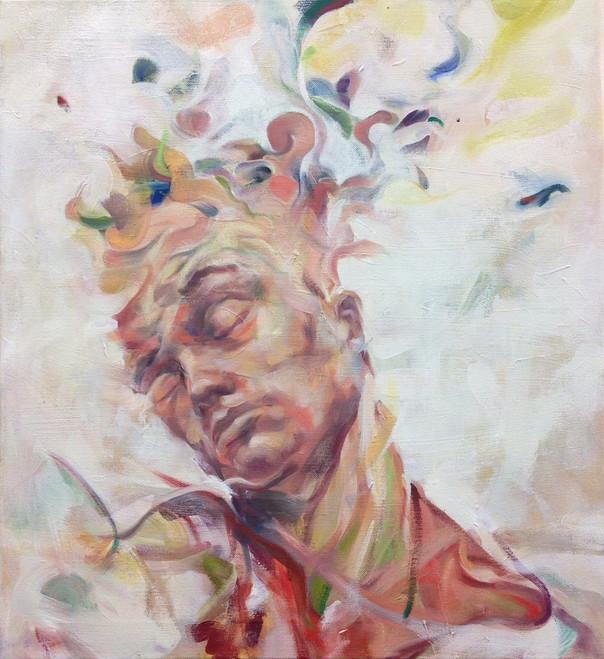 """Peel, 2014, Oil on Canvas, 22"""" x 24"""""""