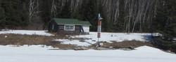 Frank Paishk's cabin