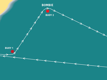 Sunday 24 November: Beach to Bombie Swim