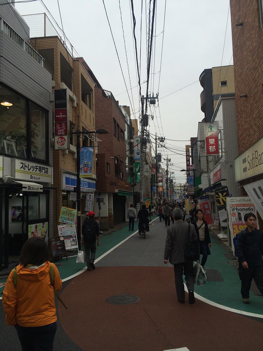 経堂駅からサロンまでの道順2