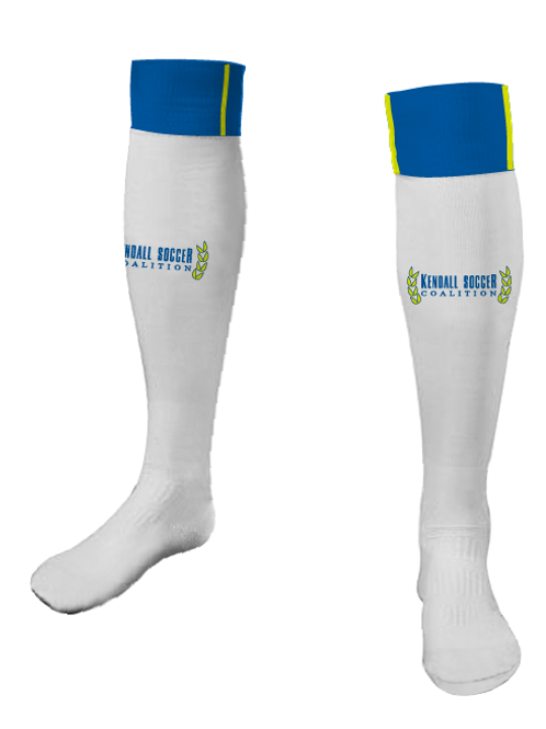 KSC Game Socks White